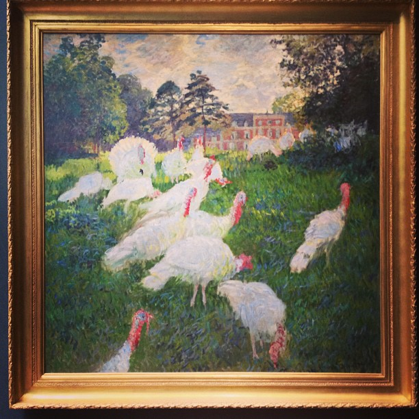 Monet.turkeys